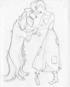 Anastasia - Pre-Production - Anya and Dog Dance