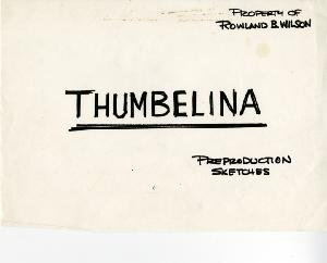 Thumbelina - Pre-Production, Sketches, Assorted, Some Color