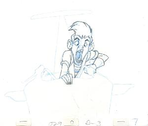 Space Ace - Animation, Sequence 029, Scene B3