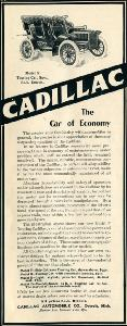 Advertisement -- Cadillac: the Car of Economy