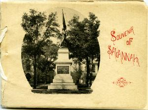 Publications -- Souvenir of Savannah: photo-gravures.