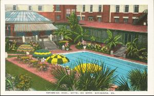 Hotel DeSoto -- Swimming Pool, Hotel De Soto, Savannah GA