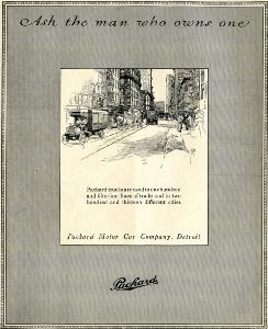 Advertisement -- Packard Motor Car Company.