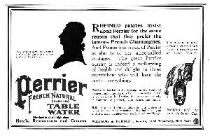 Advertisement -- Perrier.