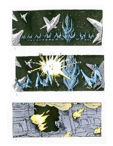 Titan A.E. - Storyboards Sequence 470