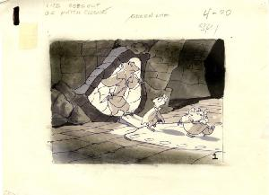 The Secret of NIMH - Storyboards, Sequence 008C