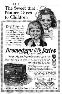 Advertisement -- Dromedary Dates.