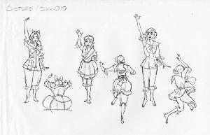 Anastasia - Concept Art - Various Characters