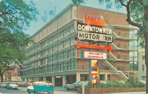 Hotels -- Downtowner Motor Inn, Welcome to Savannah Ga.