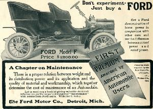 "Advertisement -- Ford Motor Company: ""Maintenance."""