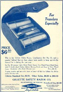 Advertisement -- Gillette Safety Razor.