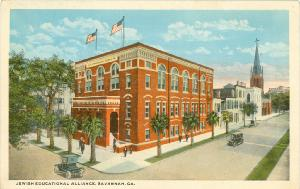 Downtown Buildings -- Jewish Educational Alliance, Savannah, Ga.