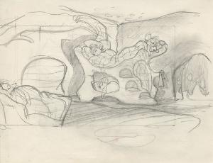 The Secret of NIMH - Storyboards, Sequence 006