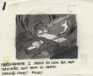 The Secret of NIMH - Storyboards, Sequence 005