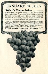 Advertisement -- Welch's Grape Juice