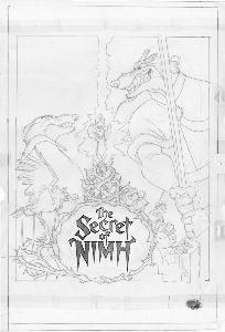 The Secret of NIMH - Publicity - Poster Concepts