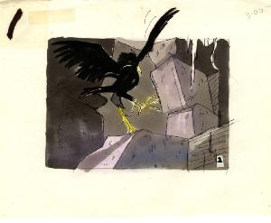 The Secret of NIMH - Storyboards, Sequence 004A