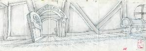 Dragon's Lair II: Time Warp - Layout Sequence 000, scene 2