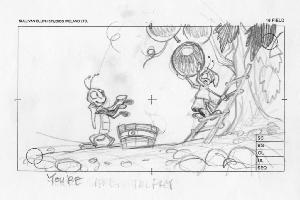 Thumbelina - Pre-Production, Story Sketches, Bugs