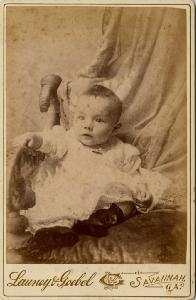 Portrait -- Infant, seated.