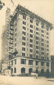 Hotels -- [no title] appears to be Savannah Hotel under construction