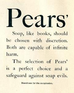 Advertisement -- Pears' Soap.