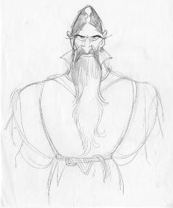 Anastasia - Pre-Production - Character Design - Rasputin