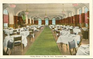 Hotel DeSoto -- Dining Room of the De Soto, Savannah Ga.