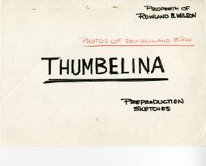 Thumbelina - Pre-Production, Research, Photo Reference