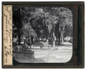 Cemeteries and Parks -- Savannah GA. Forsyth Park