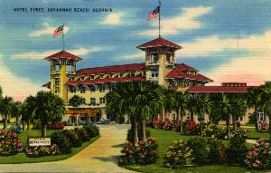 Hotels -- Hotel Tybee, Savannah Beach, Georgia