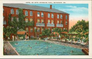 Hotel DeSoto -- Hotel DeSoto Swimming Pool, Savannah GA