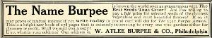 Advertisement -- Burpee Seeds.