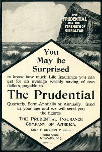 Advertisement -- The Prudential.
