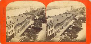 Riverfront -- Bay St. and Savannah River -- East from the Exchange