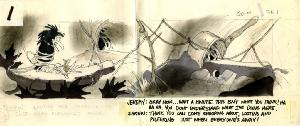The Secret of NIMH - Storyboards, Sequence 010A