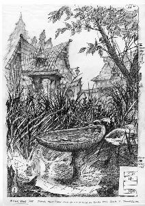 Thumbelina - Pre-Production, Environments, Thumbelina's house and garden