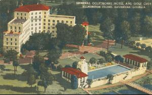 Hotels -- General Oglethorpe Hotel and Golf Club, Wilmington Island, Savannah, Georgia