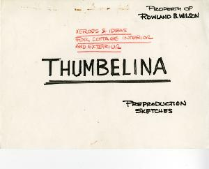 Thumbelina - Pre-Production, Environments, Cottage exteriors and interiors