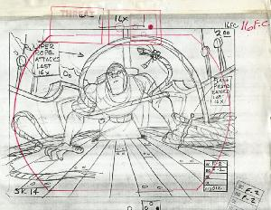Dragon's Lair II: Time Warp - Layout, Sequence 012