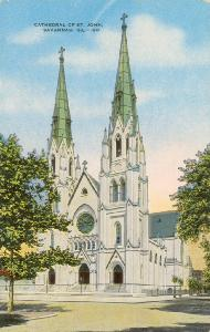 Churches -- Cathedral of St. John, Savannah Ga.
