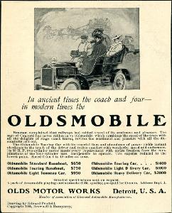 Advertisement -- Oldsmobile