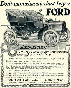 "Advertisement -- Ford Motor Company: ""Experience."""