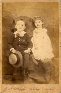 Portrait -- Two children.