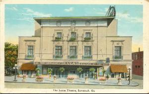 Theaters -- The Lucas Theatre, Savannah Ga.